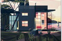 Landscape Ilustration
