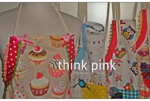 #apron #handmade #thinkpinkhandmadeaccessories