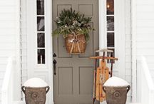 Country front doors