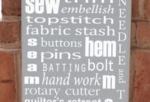 Sewing - Studio Organization