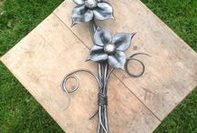 Forged flowers