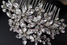 Elegant bridal headpieces
