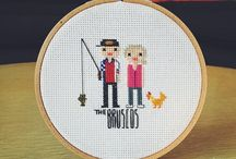 Cross stitch project