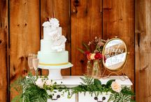 Weding Cake And Desert Displays