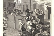 Hogarth, The four stages of cruelty, 1751