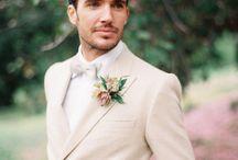 Groom + Groomsmen Fashion / Groom Attire, Groomsmen Attire, Groom Looks, Groomsmen Looks, Men in the Wedding, Wedding Party, Men's Fashion