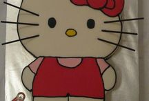 Hello Kitty / by Fancy Fondant Cakes by Emily Lindley