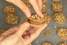 unsuz yağsız cevizli kurabiye