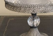 Cake stands and cloches