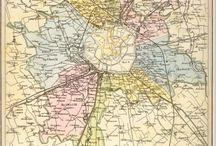 cartes Europe villes