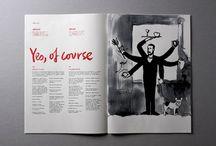 magazine/layout / editorial designs par excellence