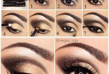 technique maquillage yeux