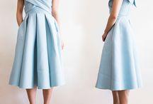 Модели платья/блузки/юбки