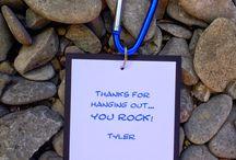 Rock climbing decor