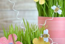 Spring and Floral Crafts / by Pebbles Inc.
