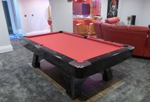 Professional Pool Table Range / This is our Professional Pool Table, it's available in 8′ and 9′ sizes and for American Pool.
