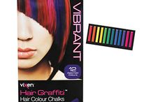 Vixen Hair Chalk / Inject some colour into your hairstyle with vixen semi permanet hair chalk. Comes in bright and pastel.