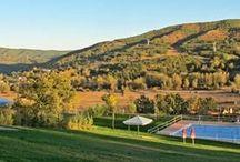 """Entorno, León Campamentos de inglés GMR / - El campamento se encuentra en la localidad de Robledo de Fenar (León), enclavado en un hermoso valle denominado """"Valle del Fenar"""" en la provincia de Léon. España - Instalaciones propias"""