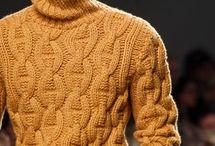 Вязание. Мужские модели