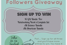 Notebooking Nook Giveaway