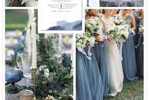 Tema/farge på bryllupet