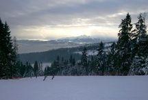Kotelnica Białczańska / Narty w kurorcie polski / Ski in Polish ski area