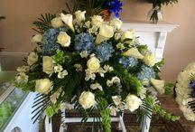 Funeral Flowers - casket spray