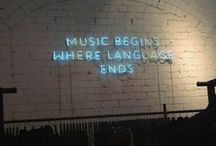music begins where language ends