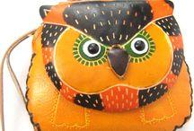 Owl bag-purse