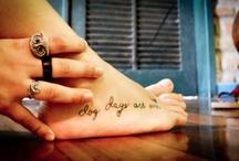 tattoos / by Margie Ryan
