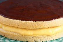 Gluten free Boston Cream Cake