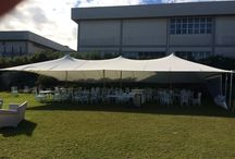Tent Tentickle 15X10 for Villa Partenope - Color: white - Tent Fabric: T3003 3Ply
