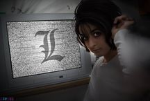L - Death Note / My favorite character from this anime :3  #L #Ryuuzaki #DeathNote #anime #cosplay #rydia