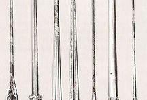 Cavalry lances