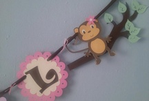 Baby shower monkey theme / by kelly davis
