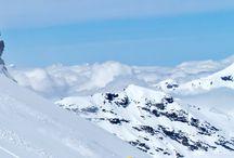 Reiseziele im Winter / Skifahren
