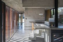 Concrete in interiors