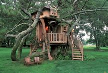 Outdoor Living/Tree Houses / by Tina Sandlin