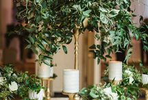 Tall centrepieces for weddings