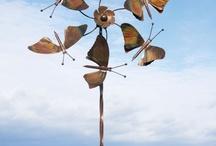Windrad Schmetterling