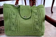knitting hand bags