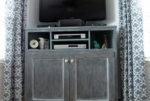 Home {Living Room} / by The Nourished Olive
