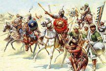 средневековые воины