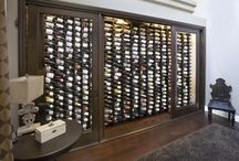 Wine Walls by Closet Wine Cellars / Have a spare wall? We can create your dream wine cellar. Check out some of our customers fabulous Closet Wine Cellar wine walls. You wine collection is displayed beautifull with our patented racking system and cooling unit.