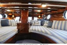 Robs Boat decor ideas / Soft furnishings