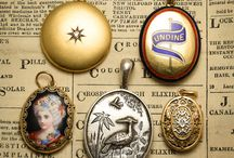 Antique Victorian Jewellery / A selection of our Victorian Jewels, all handmade during the reign of Queen Victoria - 1837 to 1901