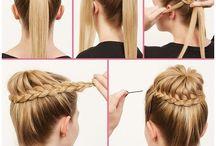 hairstyles / by Rachel Howard