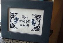 Embroidery and cross stitch wonders / Be creative at any age