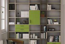 Granzotto libraries - библиотеки / Libraries for many uses! Sistema libreria che permette di realizzare infi nite soluzioni nuove e personalizzate. Bookcases for new and customised solutions.