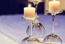 kesäpöydän somisteet